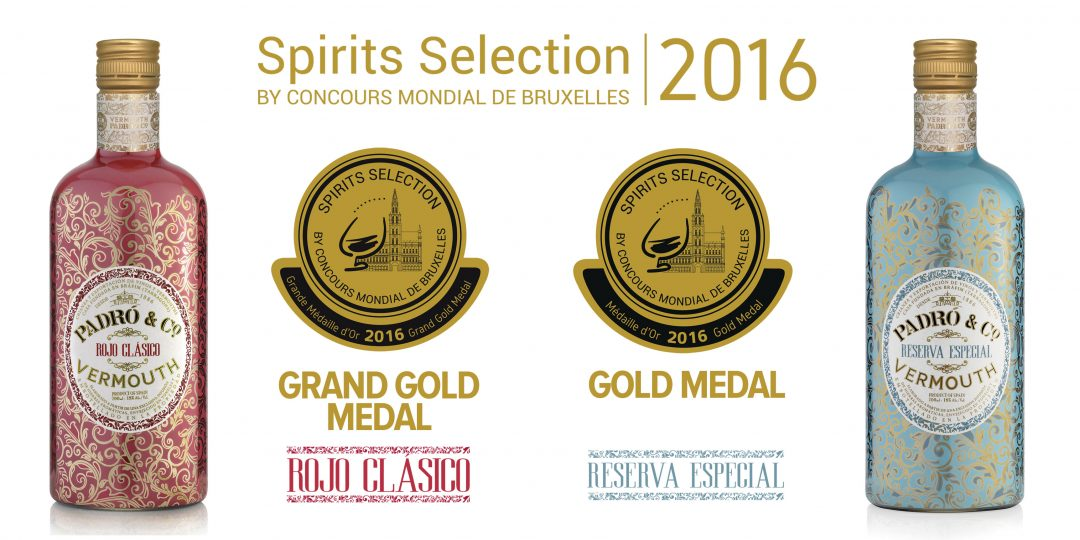 grand gold and gold medals for padró co vermouth at the 2016