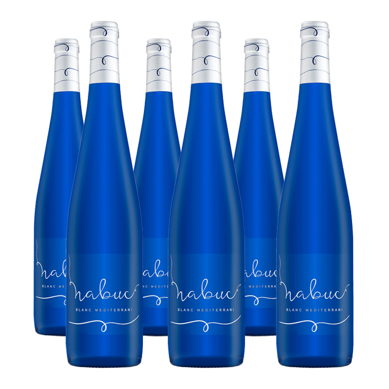6 botellas de Nabuc Padró Blanc Mediterrani