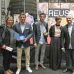 Germans Padró amb Eva Vicens i Toni Albà - Premis Vinari dels Vermuts Catalans 2017
