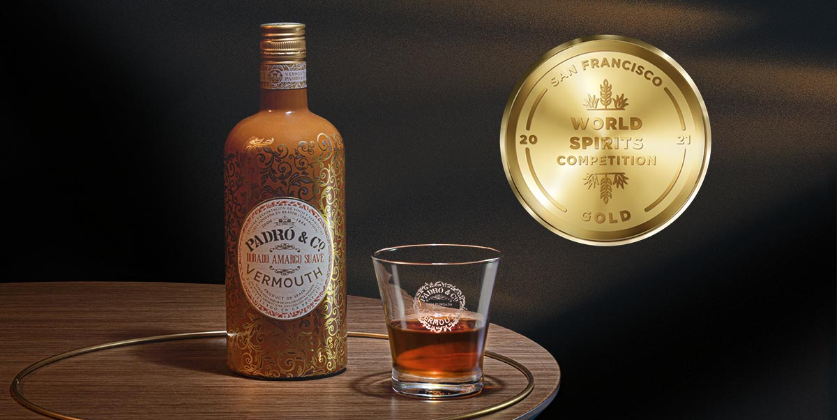 Padró Gold Vermouth - Gold Medal