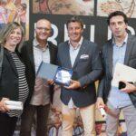 Germans Padró amb Toni Albà - Premis Vinari dels Vermuts Catalans 2017