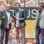 Ernest Padró - Toni Albà als Premis Vinari dels Vermuts Catalans 2017