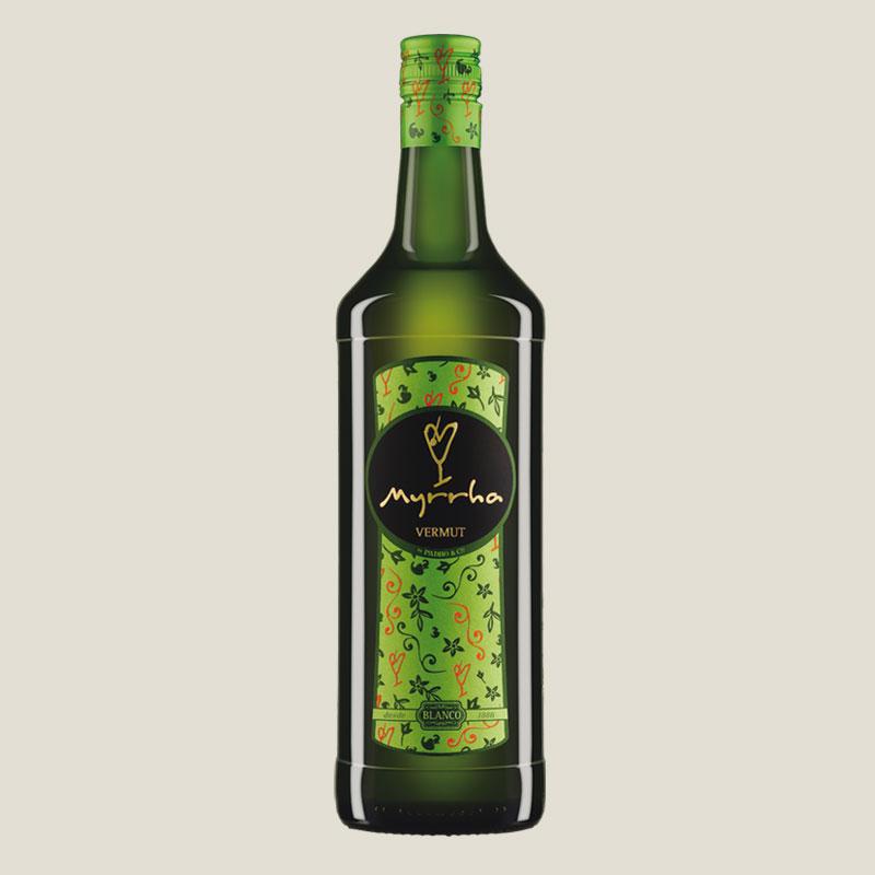 Botella de Vermut Myrrha Blanco by Padró & Co.