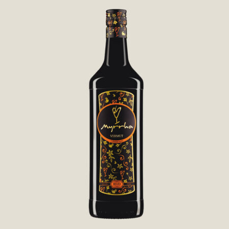 Botella de Vermut Myrrha Rojo by Padró & Co.