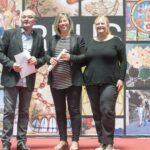 Montse Padró - Toni Albà als Premis Vinari dels Vermuts Catalans 2017