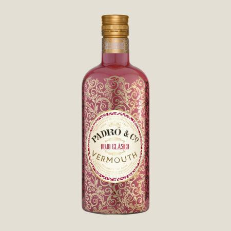 Botella de Vermouth Padró & Co. Rojo Clásico