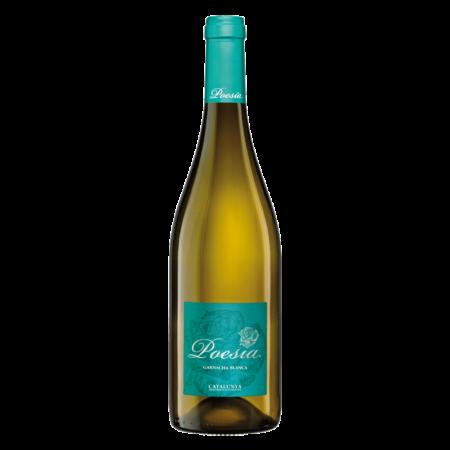 Botella de Vino Poesia Garnacha Blanca
