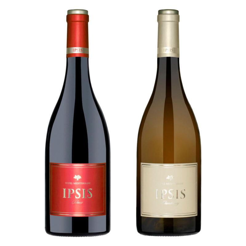 Ipsis Selecció i Ipsis Chardonnay