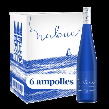 Caixa de 6 ampolles de Vi Nabuc