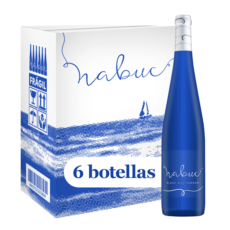 Caja de 6 unidades de Vino Nabuc
