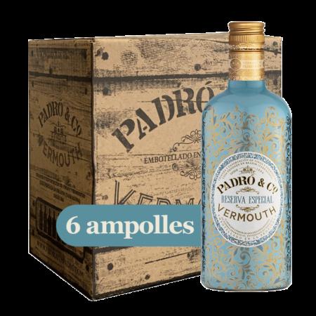Caixa Vermouth Padró & Co. Reserva Especial 6 ampolles