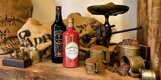 Padró & Co. Rojo Clásico y Vermut Myrrha Rojo en el almacén de botánicos