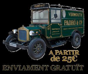 Enviament gratuït -Botiga Online Casa Vermouth Padró