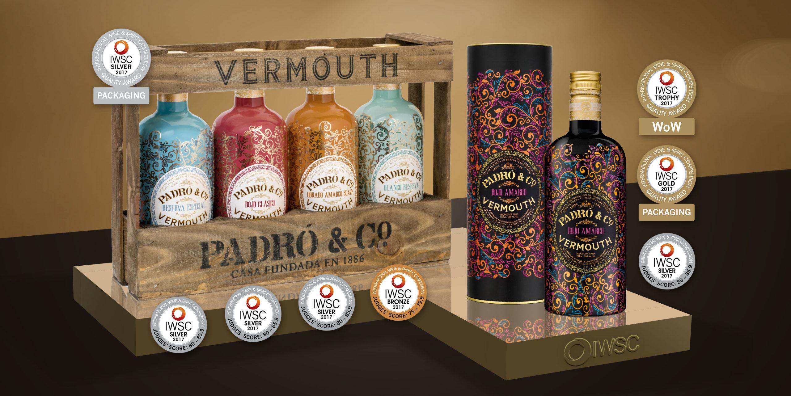 International World Spirit Awards 2017 - Vermouth Padró & Co.