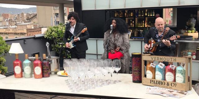 Padró & Co. en la terraza del Hotel Jazz de Barcelona - Vermouth