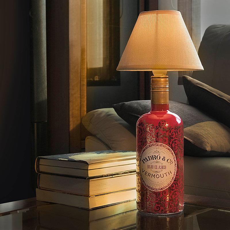 Lámpara Vermouth Padró - Rojo Clásico