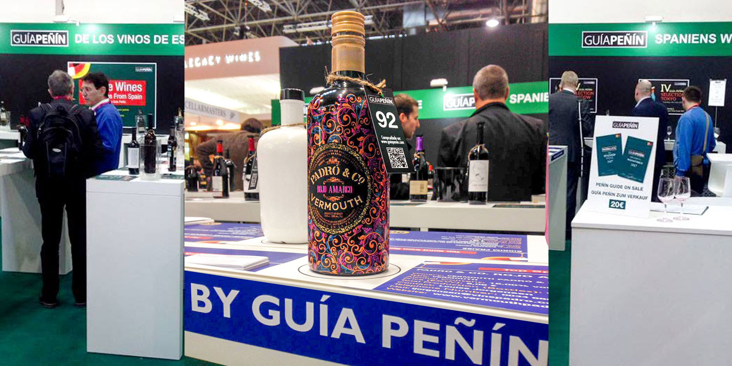 Vermouth Padró & Co. at Prowein 2017