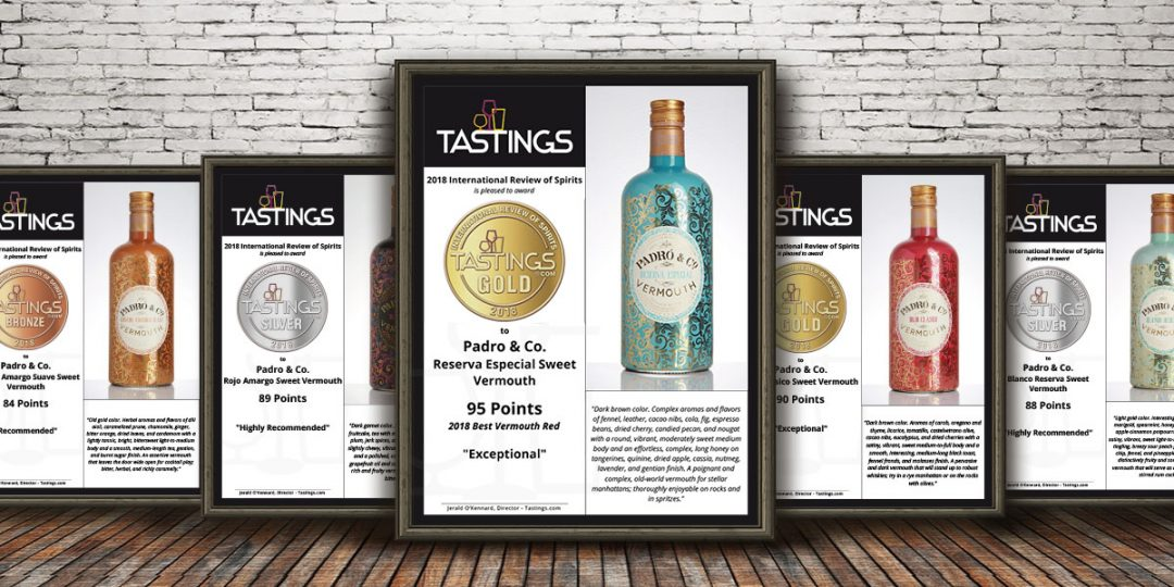 Tastings names our Padró & Co  Reserva Especial Best Red