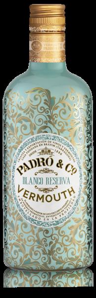 Botella de Vermut Padró Blanco Reserva