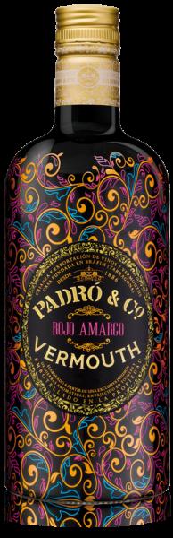 Botella de Vermut Padró Rojo Amargo
