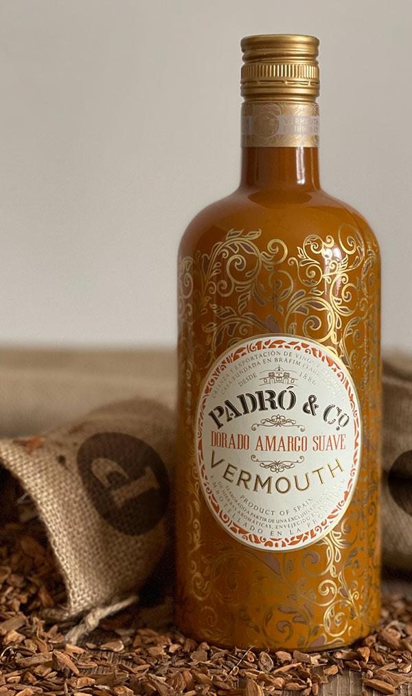 Vermut Dorado Amargo con corteza de quina