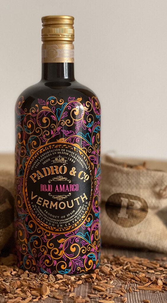 Vermut Rojo Amargo con corteza de quina